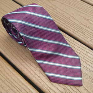 Jos. A. Bank Striped Silk Neck Tie